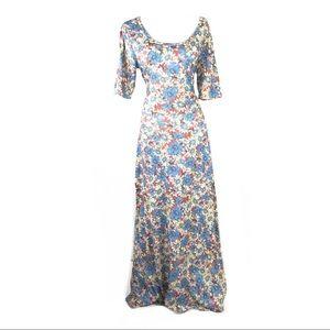 Lularoe dress 2x floral maxi comfortable hippie